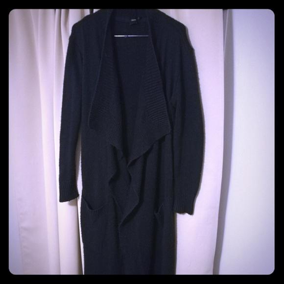 ASOS Jackets & Blazers - Asos navy blue cardigan jacket